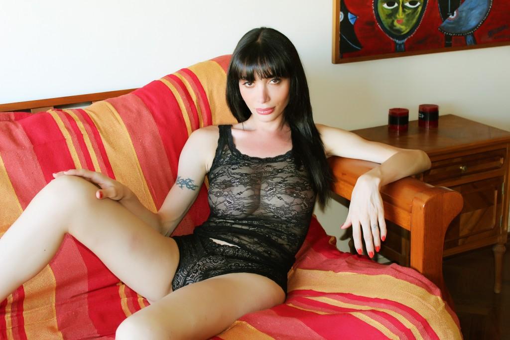 Mariana Cordoba lace panties and bra